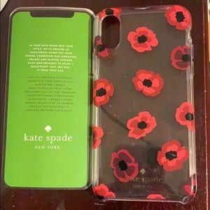 NWOT Kate spade iPhone X/XS case